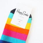 ハッピーソックス|happy socks|ショート丈カジュアルソックス|マルチボーダー イメージ02