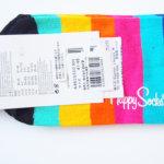 ハッピーソックス|happy socks|ショート丈カジュアルソックス|マルチボーダー イメージ03