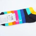 ハッピーソックス|happy socks|ショート丈カジュアルソックス|マルチボーダー イメージ04