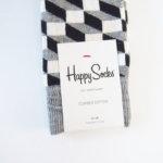 ハッピーソックス|happy socks|クルー丈カジュアルソックス|オプティックソックス|モノトーン イメージ02