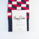 ハッピーソックス|happy socks|クルー丈カジュアルソックス|オプティックソックス|トリコロール イメージ02
