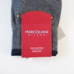 マリコリアーニ|marcoliani|自転車柄|クルー丈ソックス|グレイ イメージ02