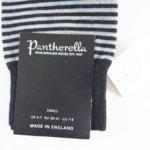 パンセレラ |PANTHERELLA|クルー丈ウールボーダーソックス|モノトーン イメージ02