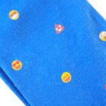 レッドソックス アピール|RED SOX APPEAL|スマイリーフェイス柄クルー丈ソックス(ブルー) イメージ02