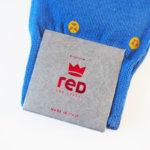 レッドソックス アピール|RED SOX APPEAL|スマイリーフェイス柄クルー丈ソックス(ブルー) イメージ03