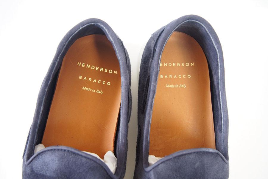 ヘンダーソン|HENDERSON|タッセルスニーカー PAUL.16 |40|ネイビーイメージ09