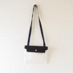 キャバ|CABAS|サコッシュ|CaBas N°60 Micro Shoulder medium|ホワイト×ブラックイメージ010