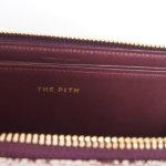 ザ・ピス|THE PITH|Lジップウォレット|三越伊勢丹限定マーブルレザーコレクション|スミナガシレザー|ボルドーイメージ010