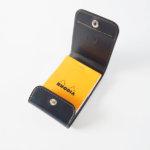ワイルドスワンズ|WILDSWANS|特別生産品・シェルコードバンシリーズ|メモカバー・コードバン×型押サドルVISTA-S|ネイビーイメージ09