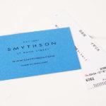 スマイソン|SMYTHSON|SOHOノートブック|ミドルサイズノート|ナイルブルーイメージ02