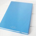 スマイソン|SMYTHSON|SOHOノートブック|ミドルサイズノート|ナイルブルーイメージ03