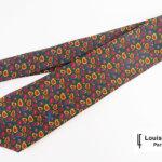 ルイファグラン|LOUIS FAGLIN|クラヴァット ボワバン|コラボ|稀少|'50~'80年代デッド生地使用ネクタイ|ペイズリー柄|グリーンベースイメージ01