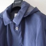 モノビー|MONOBI|ゴム引きショート丈コート|S|コットン100%イメージ02
