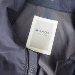 モノビー|MONOBI|ゴム引きショート丈コート|S|コットン100%イメージ09