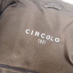 チルコロ|CIRCOLO 1901|コットンストレッチ鹿の子ジャージ2Bジャケット|CN1354|ブラウンイメージ014