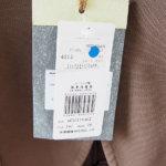 チルコロ|CIRCOLO 1901|コットンストレッチ鹿の子ジャージ2Bジャケット|CN1354|ブラウンイメージ02