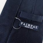 フェアファックス|FAIRFAX|ソリッドシルクネクタイ|ネイビー(1)イメージ05