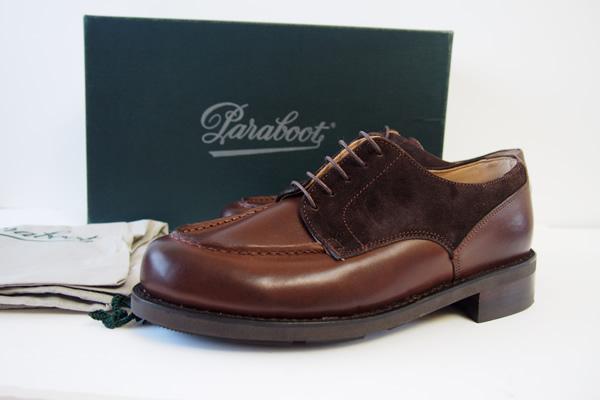パラブーツ|Paraboot|CHAMBORD|シャンボード|ドレス|グッドイヤー製法|ブラウンイメージ01
