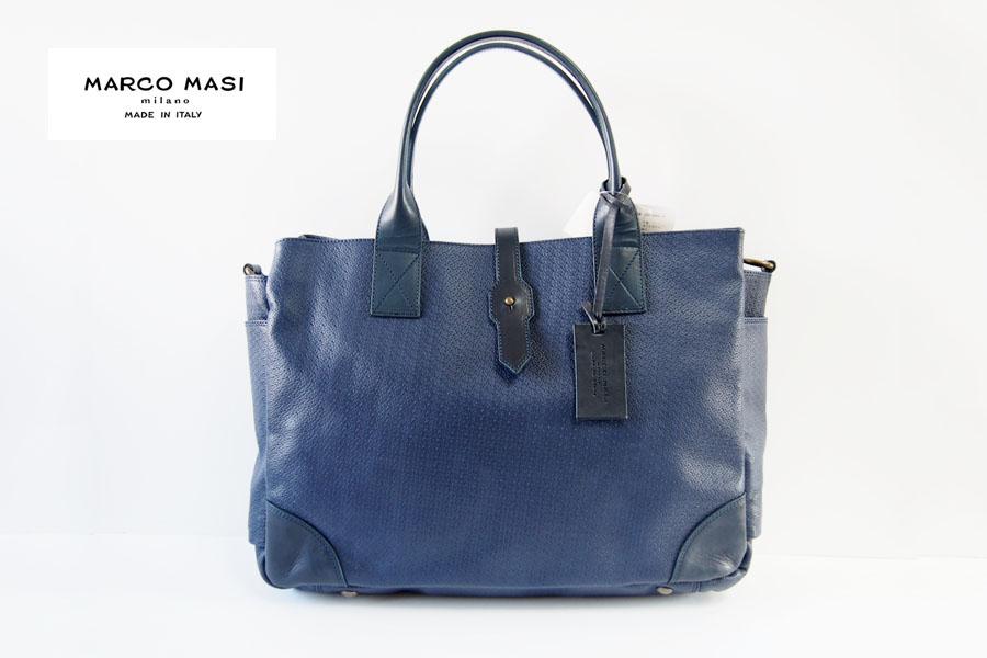 マルコマーシ|Marco Masi|メンズトートバッグ|ネイビーイメージ01