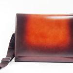 アラルディ|ARALDI 1930|クロコダイルレザー装飾|斜め掛けレザーショルダーバッグイメージ02