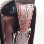 アラルディ|ARALDI 1930|クロコダイルレザー装飾|斜め掛けレザーショルダーバッグイメージ04