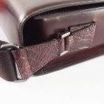 アラルディ|ARALDI 1930|クロコダイルレザー装飾|斜め掛けレザーショルダーバッグイメージ08