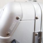 ゼロハリバートン|ZERO HALLIBURTON|ZRシリーズトローリー24インチ|ZR Series|Trolley 24inch |ZRG24-SI/9400605|アルミニウムイメージ04