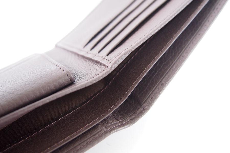 デンツ|DENTS|2つ折り財布|グレインレザー|ダークブラウンイメージ012