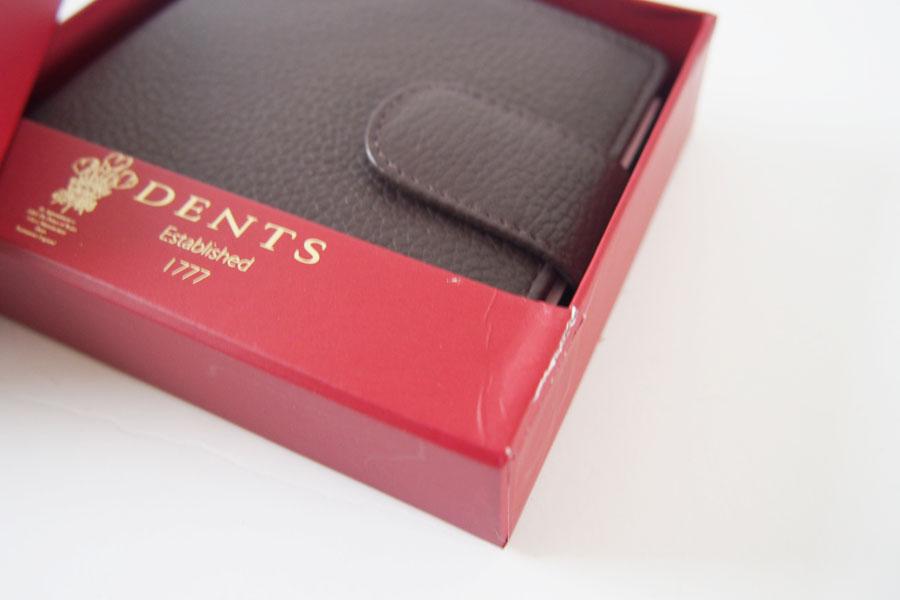 デンツ|DENTS|2つ折り財布|グレインレザー|ダークブラウンイメージ014