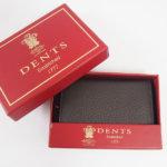 デンツ|DENTS|カードケース|名刺入れ|グレインレザー|ダークブラウンイメージ02