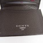 デンツ|DENTS|カードケース|名刺入れ|グレインレザー|ダークブラウンイメージ08