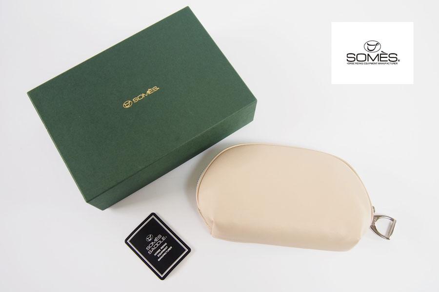 ソメスサドル|SOMES SADDLE|アブミチャームポーチ|ベージュイメージ01