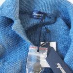 ドルモア|Drumohr|リネンニットジャケット|ブルーイメージ01