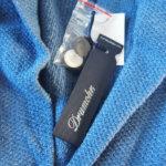 ドルモア|Drumohr|リネンニットジャケット|ブルーイメージ03