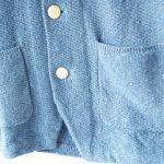 ドルモア|Drumohr|リネンニットジャケット|ブルーイメージ07