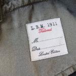 エルビーエム1911|LBM1911|コットン×シルクベスト|ジレイメージ08