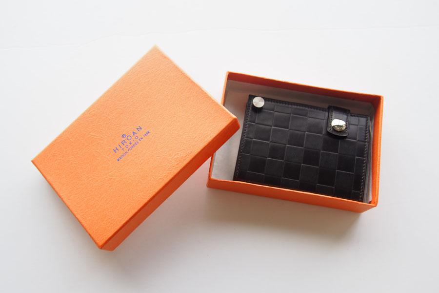 博庵|ヒロアン|HIROAN|コードバン|カードケース|市松模様イメージ02