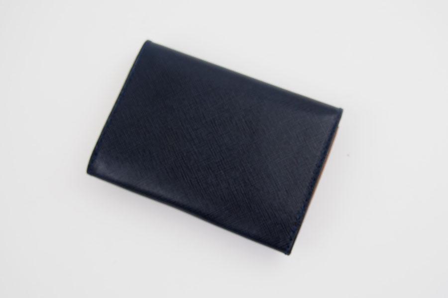 フェリージ|Felisi|サフィアーノレザー|カードケース|名刺入れ|450/SI|ネイビーイメージ09