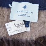 ベグ アンド コー|BEGG & CO|JURAウールアンゴラチェックマフラー|CORPORAL CAMO|ブラウン×ネイビーイメージ05