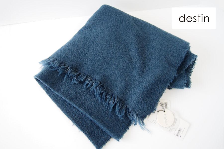 デスティン|destin|ウール・ナイロン・カシミヤ・シルク混紡ストール|FLUFFY STOLAイメージ01