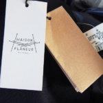 メゾン・フラネール|MAISON FLANEUR|メンズウールコート|ダークネイビーイメージ07