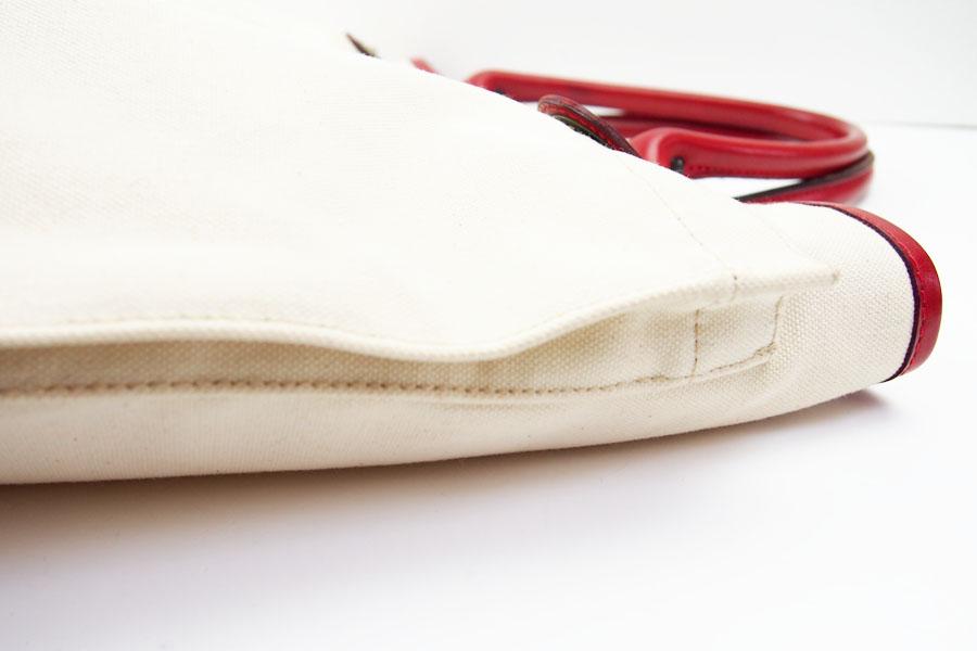 【中古】フェリージ|Felisi|キャンバス×レザーヘルメットバッグ|9237イメージ010