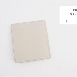 ピービーゼロワンワンゼロ|PB0110|ナチュラルレザーコインケース|ライトグレイイメージ01