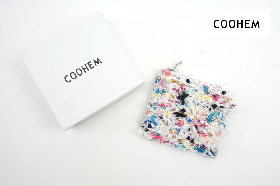 <コーヘン|COOHEM>ツイードウォレットホワイトーイメージ01