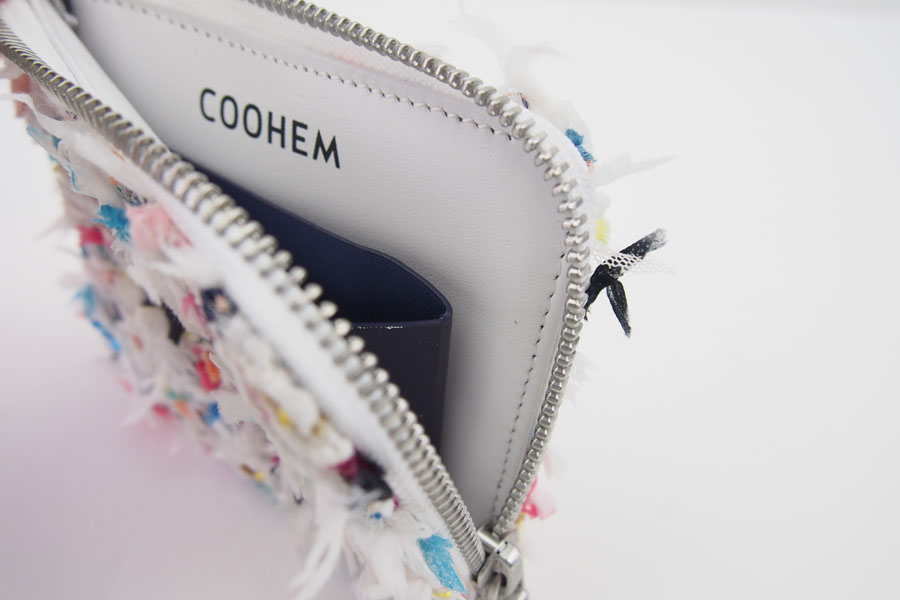 <コーヘン|COOHEM>ツイードウォレットホワイトーイメージ013