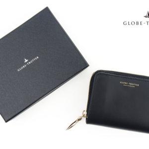 グローブトロッター|globe-trotter|セント・ジョン|ジップアラウンドウォレット|ラウンドジップ折財布|ブラックイメージ01