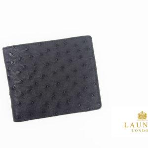 <ロウナーロンドン>折財布オーストリッチ×リザードイメージ01