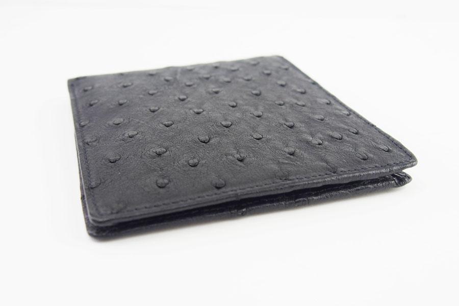 <ロウナーロンドン>折財布オーストリッチ×リザードイメージ03