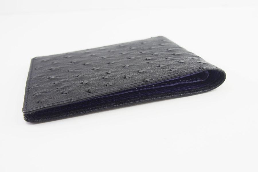 <ロウナーロンドン>折財布オーストリッチ×リザードイメージ04