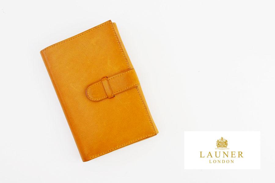 ロウナー ロンドン|LAUNER LONDON|小銭入れ付き折財布|194|タンパネルハイドイメージ01